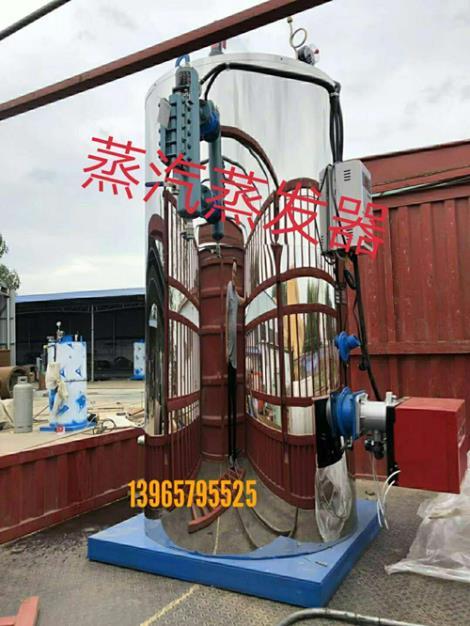 蒸汽蒸发器安装