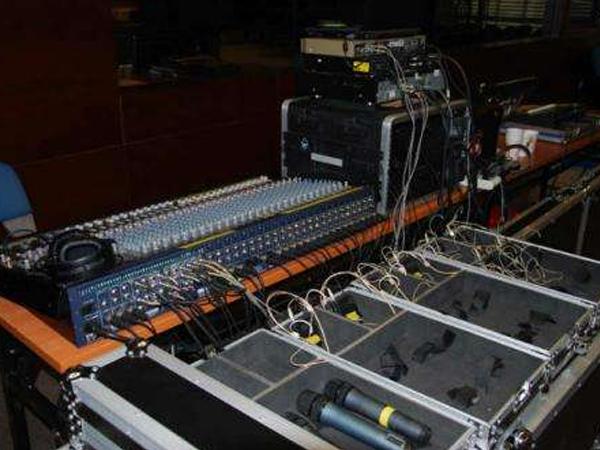 舞台灯光施工