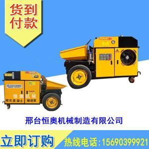 小型二次构造柱输送泵供货商