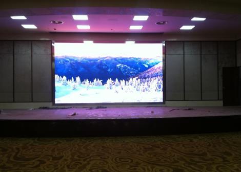 室内LED显示屏安装