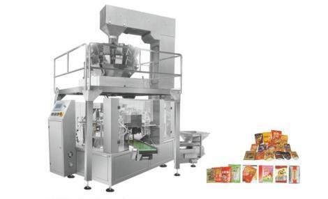 OMW-KL200 八工位给袋式颗粒自动称重包装机