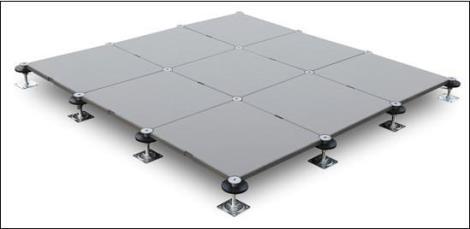 带走线槽网络地板定制