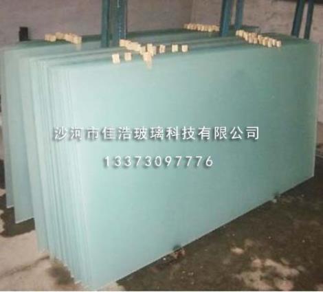 大板水磨砂玻璃定制