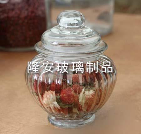 玻璃密封储物罐