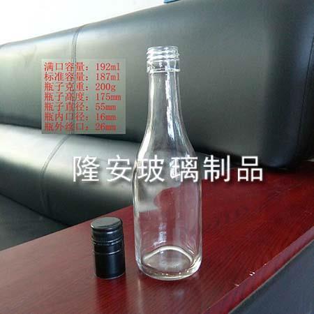 187ml玻璃白酒瓶