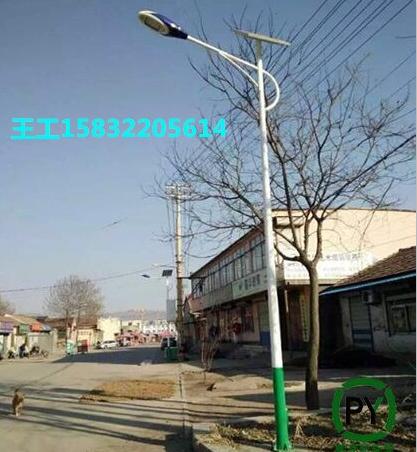 忻州農村太陽能路燈5米路燈桿美麗鄉村用
