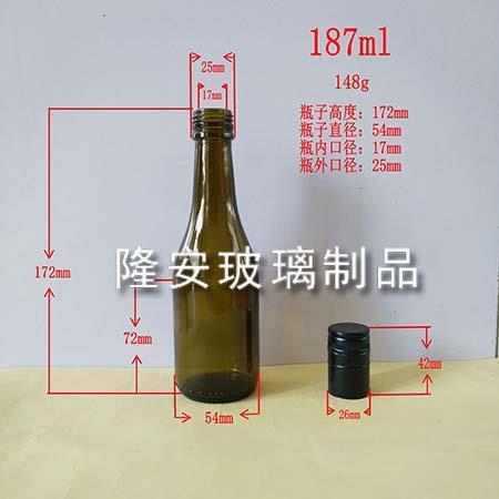 187ml大肚玻璃瓶
