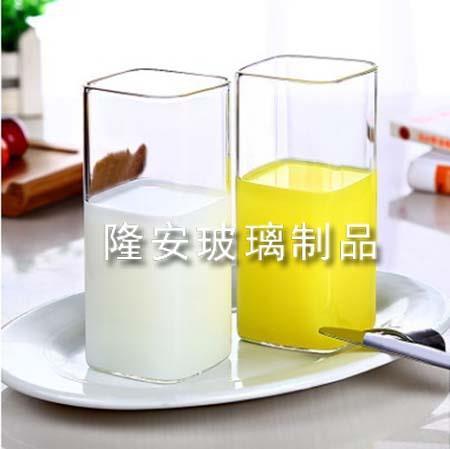 方形直筒玻璃水杯