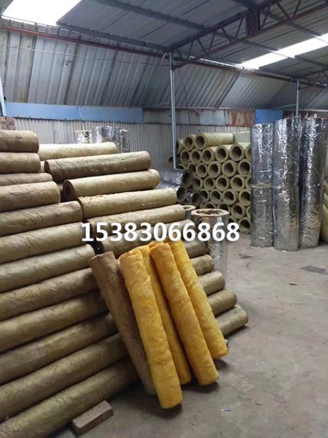 生产优质岩棉管