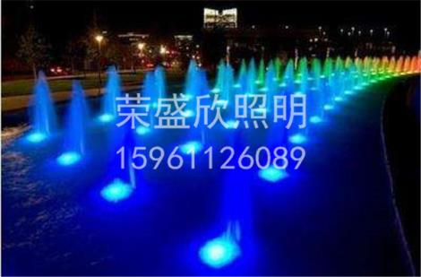 LED铝铸中孔喷泉灯定制