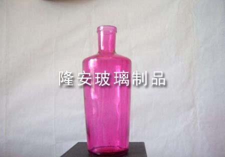 玻璃瓶喷涂