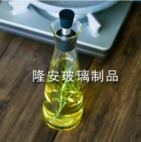 玻璃麻油瓶