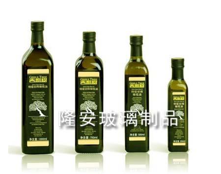 橄榄油方形玻璃瓶