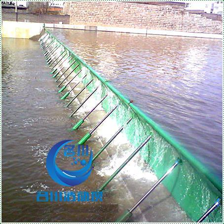 名川液压活动升降坝MC-80合页坝 泄洪能力强 无中墩设计 替代橡胶坝翻板坝