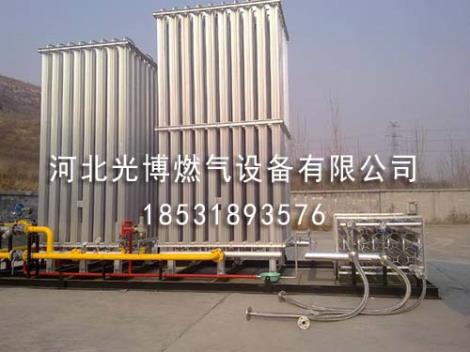 LNG气化撬加工