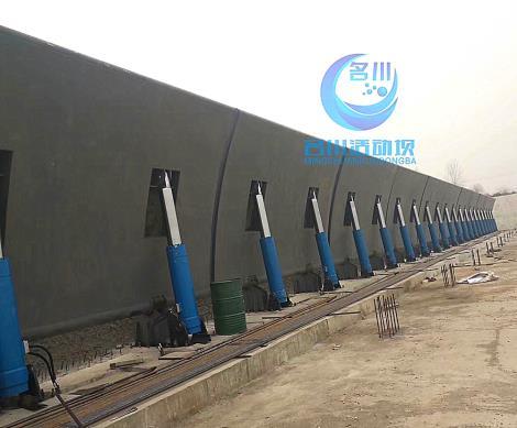 液壓升降壩MC-84液壓活動壩合頁壩直銷比翻板壩橡膠壩造價低
