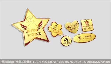企業胸牌模板_上海企業胸牌制作 免費設計