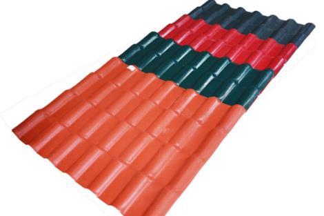 遮阳棚合成树脂瓦
