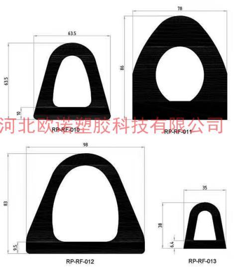 异形硅胶密封条定制