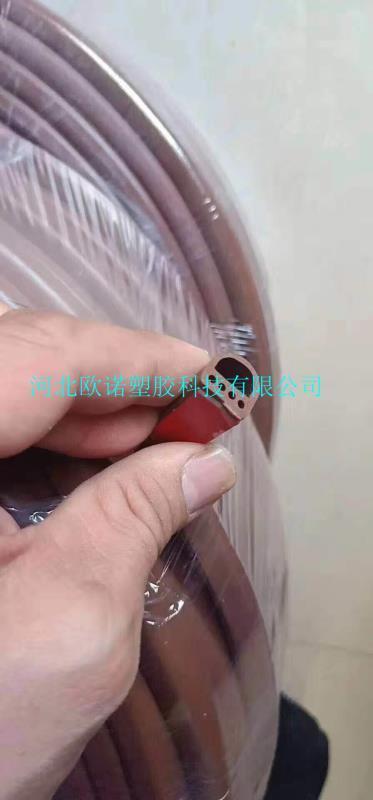 彩色硅胶海绵密封条定制
