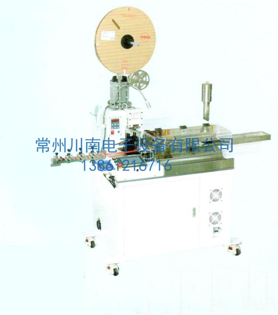 CN-02A全自动单头打端沾锡机