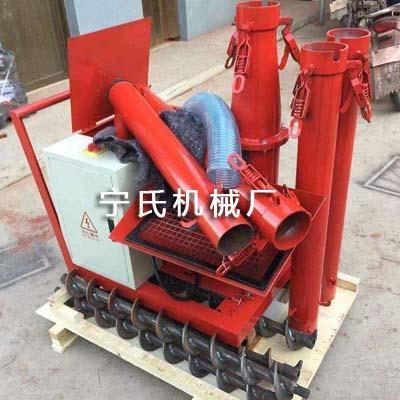 邢台二次构造柱泵上料机