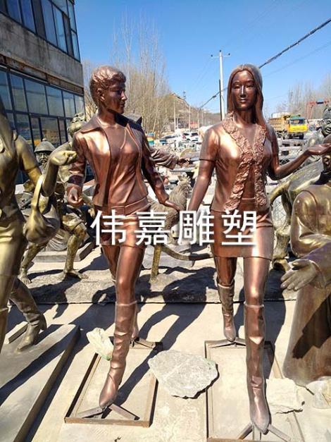 玻璃钢雕塑仿青铜
