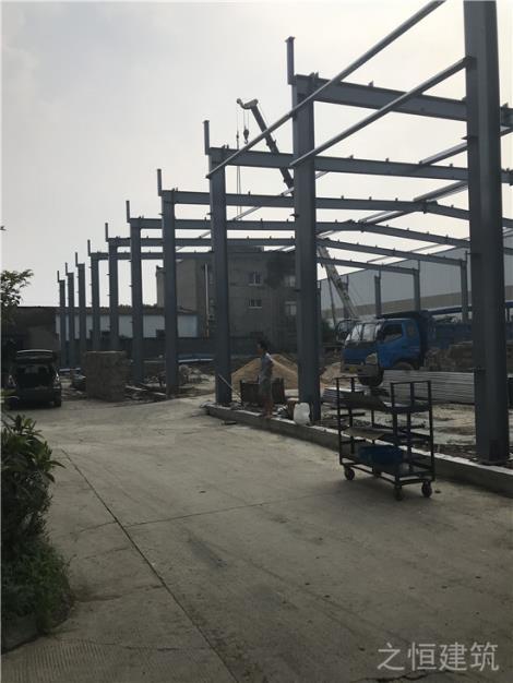 电泳线钢结构
