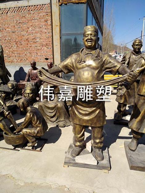 仿锻铜雕塑