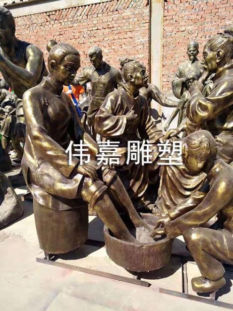 仿铜工艺雕塑