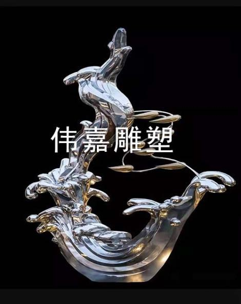 不锈钢雕塑动作