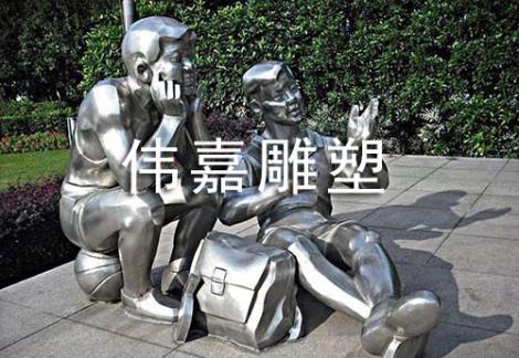 景观制作不锈钢雕塑