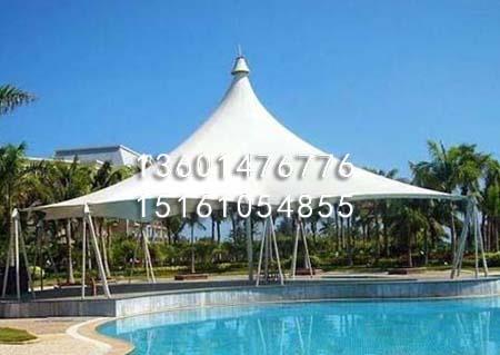 游泳池膜结构罩棚