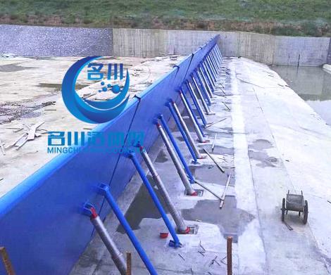 液壓壩 淘汰攔水壩鋼板壩 橡膠壩