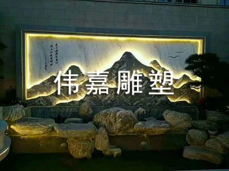 大型风景石