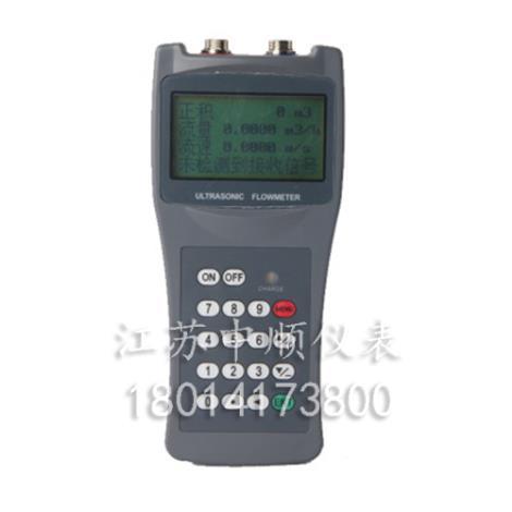 便携手持式超声波流量计管道巡检TDS-100H液体传感器