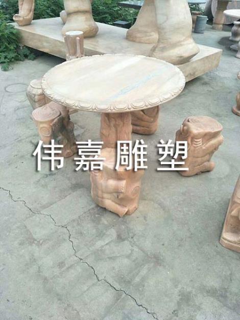 石桌石凳雕刻