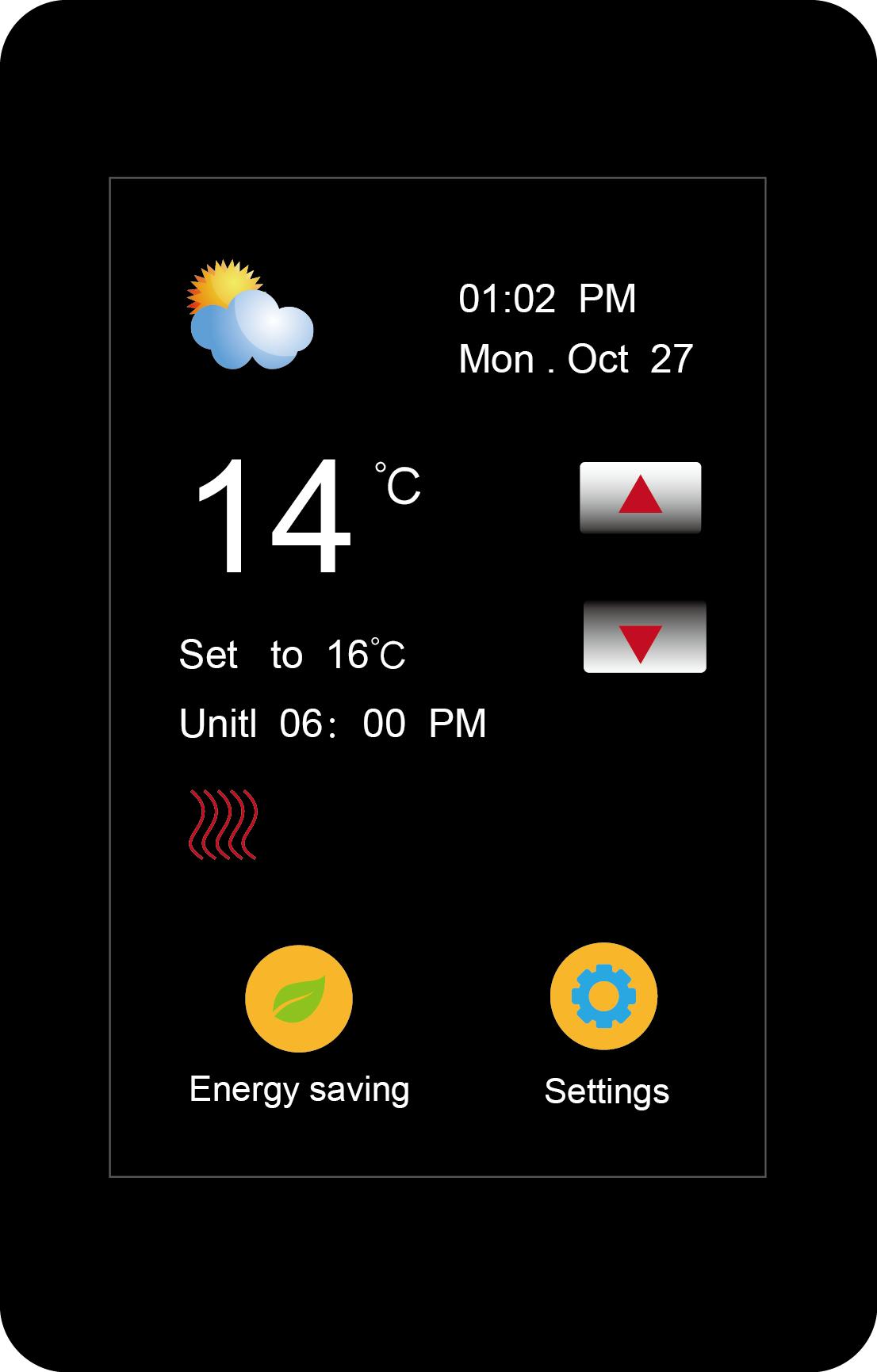 地暖温控器6RE