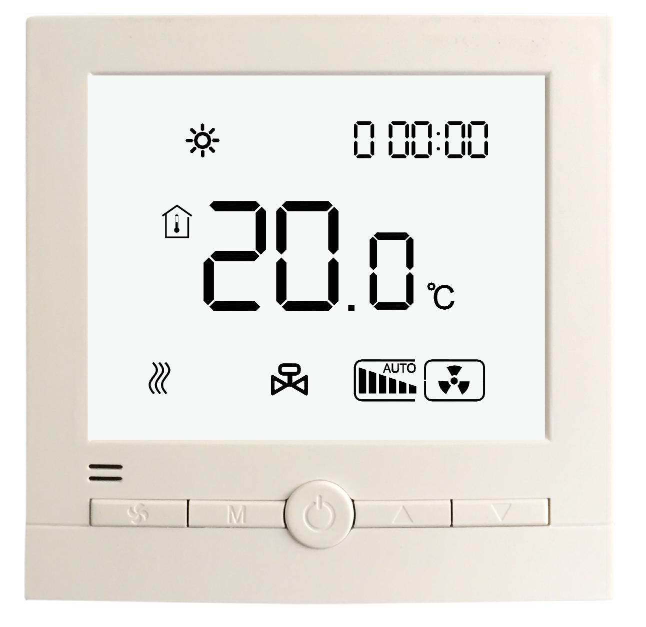 空调地暖二合一温控器厂家