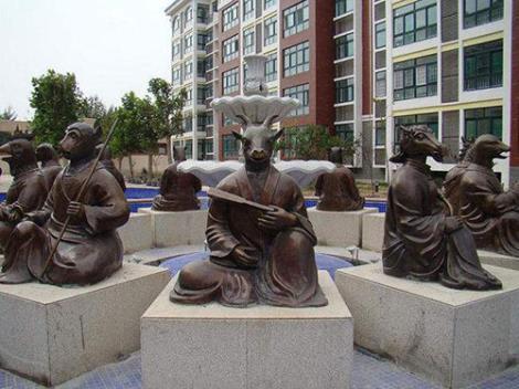 十二生肖雕塑加工
