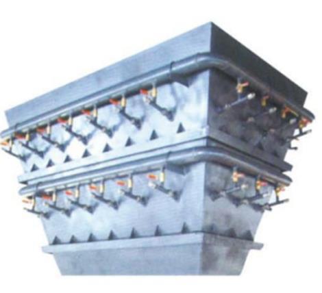 耐磨型高效蒸气预热器