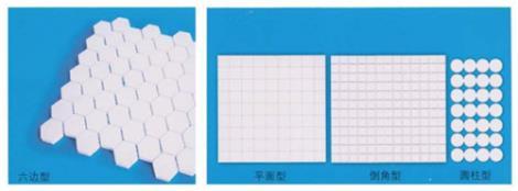耐磨陶瓷龟甲网