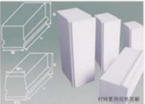 微晶耐磨氧化铝衬砖