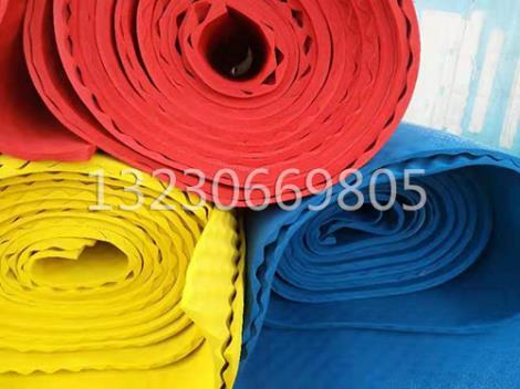 彩色橡塑泡沫板