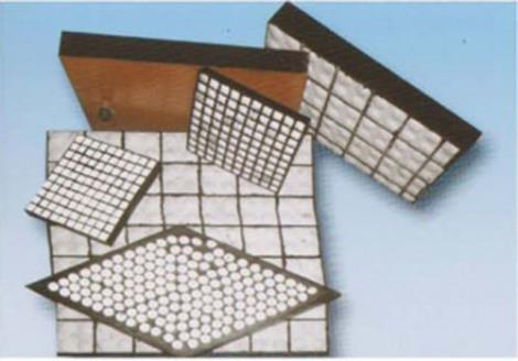 抗冲击耐磨陶瓷橡胶复合衬板定制