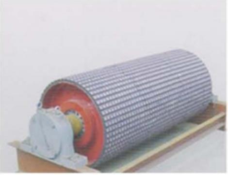 抗冲击耐磨陶瓷橡胶滚筒定制