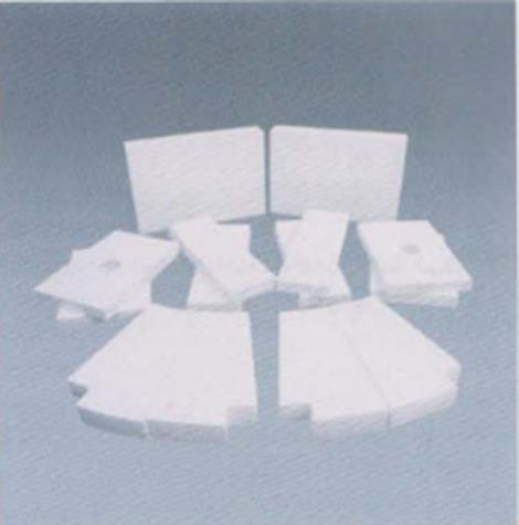微晶耐磨陶瓷衬板维修