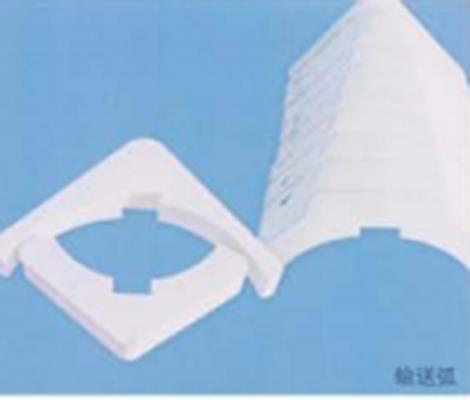 微晶耐磨陶瓷异形件定制