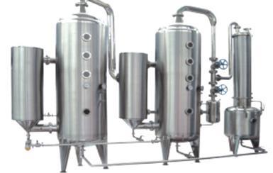 双效强制外循环真空蒸发器