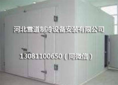 小型冷冻冷库安装工程